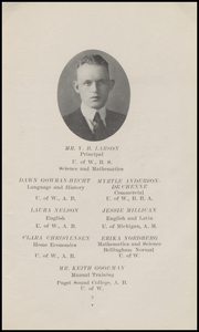 Page 13, 1923 Edition, Marysville High School - Quil Ceda Yearbook (Marysville, WA) online yearbook collection