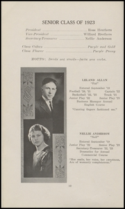 Page 16, 1923 Edition, Marysville High School - Quil Ceda Yearbook (Marysville, WA) online yearbook collection
