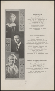 Page 17, 1923 Edition, Marysville High School - Quil Ceda Yearbook (Marysville, WA) online yearbook collection
