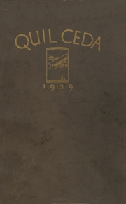 Page 1, 1929 Edition, Marysville High School - Quil Ceda Yearbook (Marysville, WA) online yearbook collection