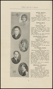 Page 12, 1929 Edition, Marysville High School - Quil Ceda Yearbook (Marysville, WA) online yearbook collection
