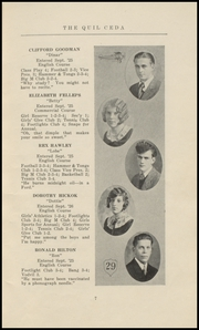 Page 13, 1929 Edition, Marysville High School - Quil Ceda Yearbook (Marysville, WA) online yearbook collection