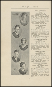 Page 14, 1929 Edition, Marysville High School - Quil Ceda Yearbook (Marysville, WA) online yearbook collection