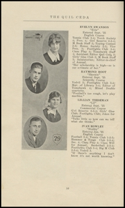 Page 16, 1929 Edition, Marysville High School - Quil Ceda Yearbook (Marysville, WA) online yearbook collection