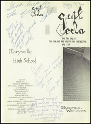 Page 5, 1959 Edition, Marysville High School - Quil Ceda Yearbook (Marysville, WA) online yearbook collection