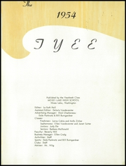 Page 5, 1954 Edition, Moses Lake High School - Tyee Yearbook (Moses Lake, WA) online yearbook collection