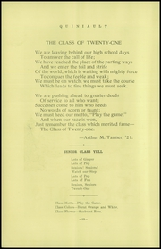 Page 14, 1921 Edition, Weatherwax High School - Quinault Yearbook (Aberdeen, WA) online yearbook collection