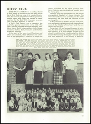 Page 17, 1952 Edition, Bellevue High School - Beacon Yearbook (Bellevue, WA) online yearbook collection
