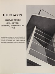 Page 5, 1960 Edition, Bellevue High School - Beacon Yearbook (Bellevue, WA) online yearbook collection