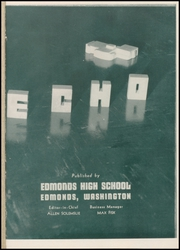 Page 5, 1941 Edition, Edmonds High School - Echo Yearbook (Edmonds, WA) online yearbook collection