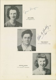 Page 11, 1944 Edition, Sunnyside High School - Mirror Yearbook (Sunnyside, WA) online yearbook collection