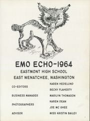 Page 5, 1964 Edition, Eastmont High School - Emo Echo Yearbook (East Wenatchee, WA) online yearbook collection