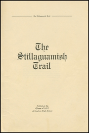 Page 7, 1927 Edition, Arlington High School - Stillaguamish Trail Yearbook (Arlington, WA) online yearbook collection