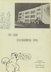 Page 7, 1950 Edition, Arlington High School - Stillaguamish Trail Yearbook (Arlington, WA) online yearbook collection