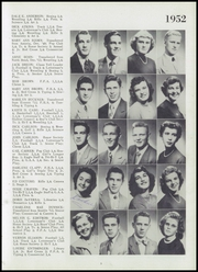 Page 17, 1952 Edition, Arlington High School - Stillaguamish Trail Yearbook (Arlington, WA) online yearbook collection
