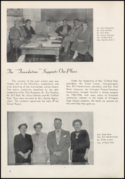 Page 10, 1954 Edition, Arlington High School - Stillaguamish Trail Yearbook (Arlington, WA) online yearbook collection
