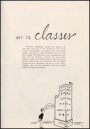 Page 17, 1954 Edition, Arlington High School - Stillaguamish Trail Yearbook (Arlington, WA) online yearbook collection