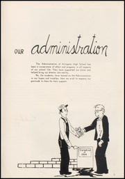 Page 9, 1954 Edition, Arlington High School - Stillaguamish Trail Yearbook (Arlington, WA) online yearbook collection