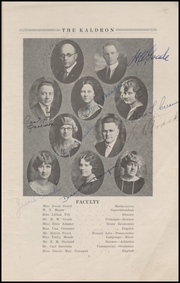 Page 9, 1925 Edition, Ferndale High School - Aquila Yearbook (Ferndale, WA) online yearbook collection