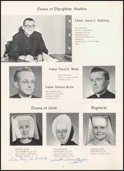 Page 12, 1959 Edition, Blanchet High School - Pallium Yearbook (Seattle, WA) online yearbook collection