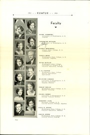 Page 12, 1931 Edition, Sedro Woolley High School - Kumtux Yearbook (Sedro Woolley, WA) online yearbook collection