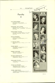 Page 13, 1931 Edition, Sedro Woolley High School - Kumtux Yearbook (Sedro Woolley, WA) online yearbook collection