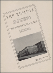 Page 5, 1934 Edition, Sedro Woolley High School - Kumtux Yearbook (Sedro Woolley, WA) online yearbook collection