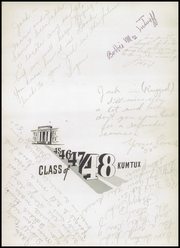 Page 5, 1948 Edition, Sedro Woolley High School - Kumtux Yearbook (Sedro Woolley, WA) online yearbook collection