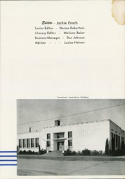Page 7, 1951 Edition, Sedro Woolley High School - Kumtux Yearbook (Sedro Woolley, WA) online yearbook collection