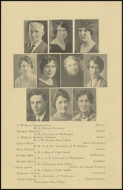 Page 12, 1928 Edition, Stanwood High School - Esaches Yearbook (Stanwood, WA) online yearbook collection