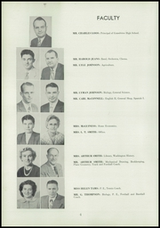 Page 8, 1950 Edition, Grandview High School - Greyhound Yearbook (Grandview, WA) online yearbook collection
