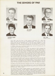 Page 14, 1961 Edition, W F West High School - Chehalin Yearbook (Chehalis, WA) online yearbook collection