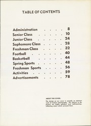 Page 9, 1961 Edition, W F West High School - Chehalin Yearbook (Chehalis, WA) online yearbook collection