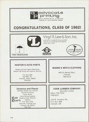 Page 130, 1982 Edition, W F West High School - Chehalin Yearbook (Chehalis, WA) online yearbook collection