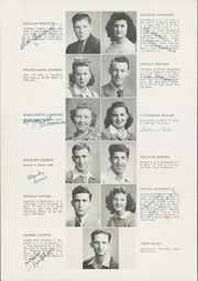 Page 14, 1945 Edition, Port Townsend High School - WaWa Yearbook (Port Townsend, WA) online yearbook collection