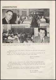 Page 10, 1950 Edition, Port Townsend High School - WaWa Yearbook (Port Townsend, WA) online yearbook collection
