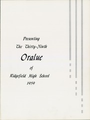 Page 5, 1959 Edition, Ridgefield High School - Oralue Yearbook (Ridgefield, WA) online yearbook collection