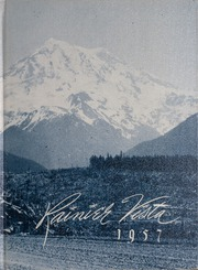 1957 Edition, Auburn Adventist Academy - Rainier Vista Yearbook (Auburn, WA)