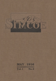 1916 Edition, Goldendale High School - Simcoe Yearbook (Goldendale, WA)