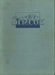 1928 Edition, Goldendale High School - Simcoe Yearbook (Goldendale, WA)