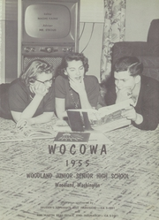 Page 5, 1955 Edition, Woodland High School - Wocowa Yearbook (Woodland, WA) online yearbook collection