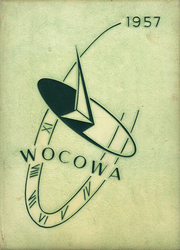 1957 Edition, Woodland High School - Wocowa Yearbook (Woodland, WA)