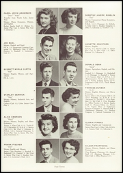 Page 15, 1950 Edition, Castle Rock High School - Rocket Log Yearbook (Castle Rock, WA) online yearbook collection