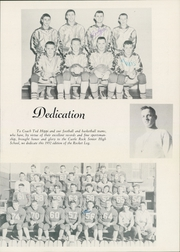 Page 7, 1952 Edition, Castle Rock High School - Rocket Log Yearbook (Castle Rock, WA) online yearbook collection