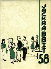 1958 Edition, Quincy High School - Jackrabbit Yearbook (Quincy, WA)