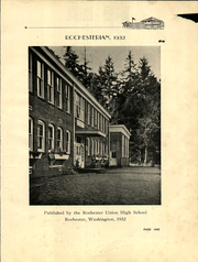 Page 5, 1920 Edition, Rochester High School - Rochesterian Yearbook (Rochester, WA) online yearbook collection