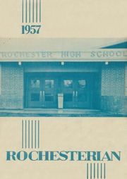 1957 Edition, Rochester High School - Rochesterian Yearbook (Rochester, WA)