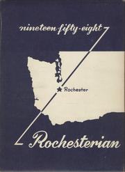 1958 Edition, Rochester High School - Rochesterian Yearbook (Rochester, WA)