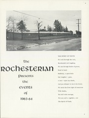 Page 5, 1964 Edition, Rochester High School - Rochesterian Yearbook (Rochester, WA) online yearbook collection