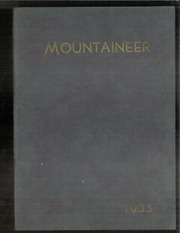 1935 Edition, Mount Baker High School - Mountaineer Yearbook (Deming, WA)